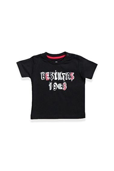Beşiktaş Beşiktaş Lisanslı Bebek T-Shirt Siyah Siyah